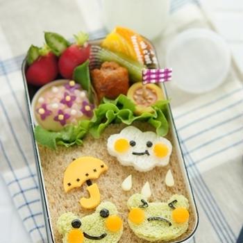 【掲載】梅雨のおべんとう++