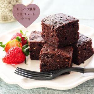 チョコレート不要ですぐできる!「ココアケーキ」を作ろう