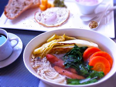 焼き白菜と春菊のポトフ & 明太子を使わない明太子スパゲティ & 副作用その後・・