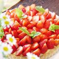ざっくざく食感の秘密は…『たっぷり苺のフルブラ☆カスタードタルト』 by Yoshikoさん