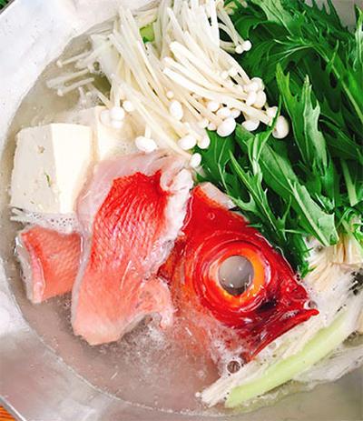 金目鯛の鍋