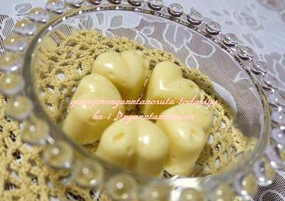 もうすぐバレンタイン☆<バニラの香りのホワイト生チョコ>