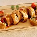 彩り野菜の肉巻き照り焼き   英語料理 レシピ動画   OCHIKERON