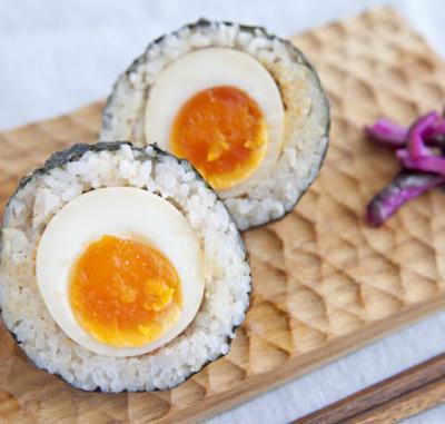 【マルコメ様おにぎりレシピ】ゆで卵おにぎり/3種の一口おにぎり