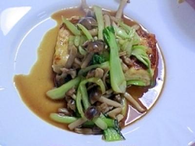 健康法師の 塩麹豆腐のステーキ