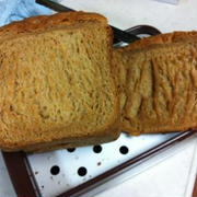 ホームベーカリーで黒糖黄な粉パン
