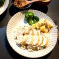 炊飯器で簡単!シンガポールチキンライス風☆取り分けレシピ☆