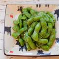 【レシピ】ビールのおともに♪ 『ガーリックバター&ブラックペッパー枝豆』