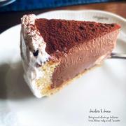 チョコのレアチーズケーキ・塩バニラシフォン