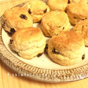 【簡単*お菓子】英国家庭直伝♪イギリスの定番スコーン
