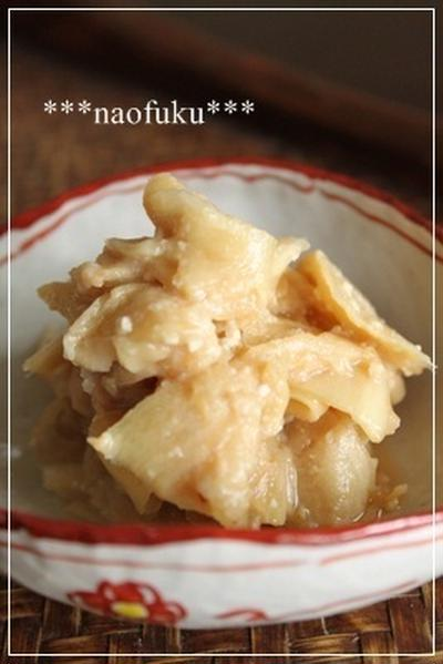 新生姜の味噌漬け
