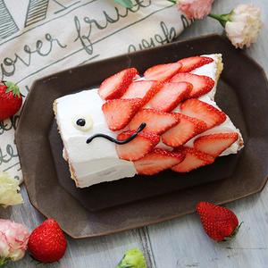 こどもの日に♪鯉のぼりのロールケーキを作ろう!
