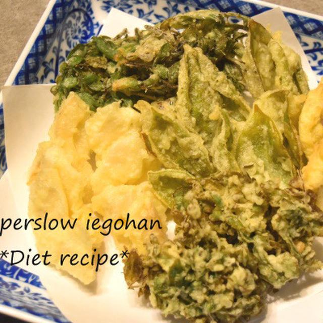 失敗なし、さっくり揚がる「山菜の天ぷら」春の味覚を簡単においしく。
