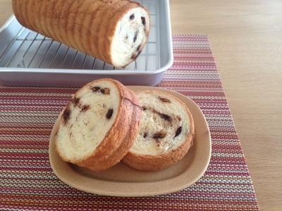 そのまんまトースト☆チョコチップラウンドパン