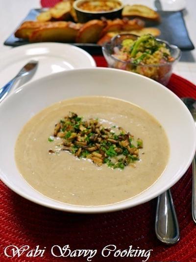 茸スープとそのリメイク料理