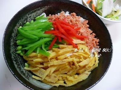 酢飯(o^^o)チラシどんぶり