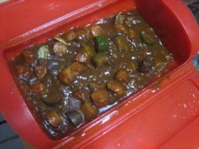 ウインナー夏野菜カレー