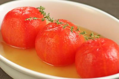 冷製丸ごとトマト