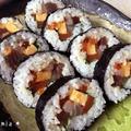 【手作り】7種類の具材♪海鮮太巻き寿司*恵方巻、お花見などに♪