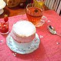 """ストロベリースフレ """"Strawberry Souffle"""" ❥ ふわふわの温かいうちに by mayumiたんさん"""