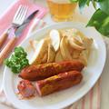 【ドイツ料理】カリーヴルスト(Currywurst)カレー風味♡ベルリンのファストフード