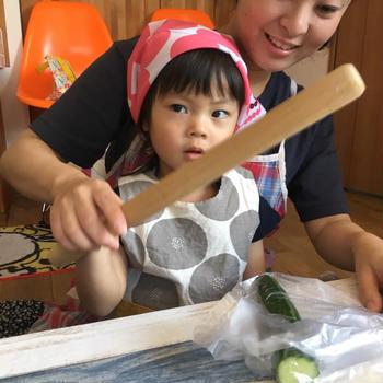 1歳から始める親子料理