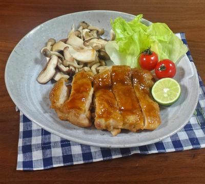 【レシピ&告知】しっとり甘辛 鶏肉の照り焼き&ユーキャン マナトピ掲載のお知らせ