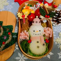 雪だるまおにぎり弁当✩冬弁当 by とまとママさん