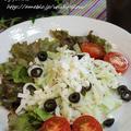 ◆冬瓜サラダはハウスつぶ入りマスタードでサラダ♪~緩やか糖質制限中 by fellowさん