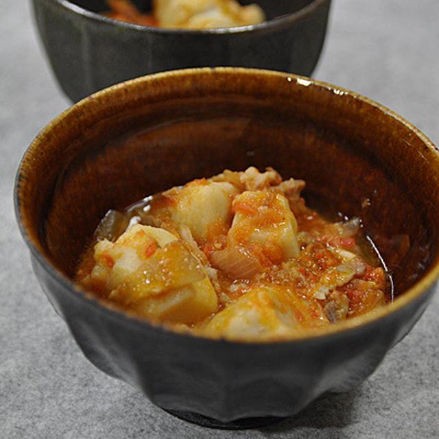 里芋のトマトソース煮