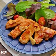 簡単トンテキ(豚肉のステーキ)