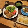肉じゃがをリメイク~肉じゃがコロッケの晩ご飯 と ジキタリスの花♪