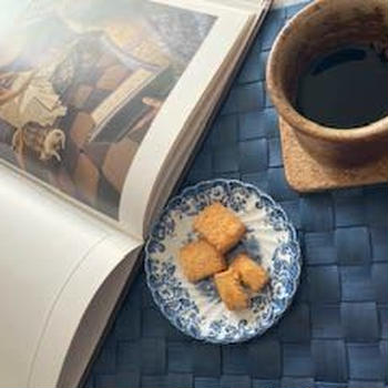 午後のお茶タイムと  冬支度