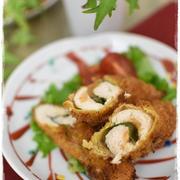 鶏ささみの梅しそカツ|スパイス大使|ハウス梅肉