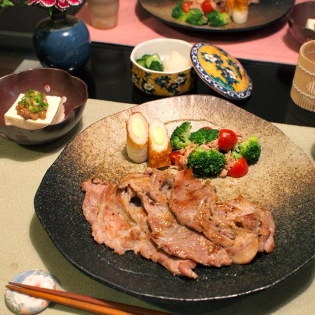 超簡単!豚肉の塩麹漬け焼き