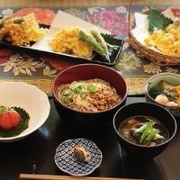 おうちランチ【お蕎麦づくしのミニ懐石風】アメリカでも日本食!