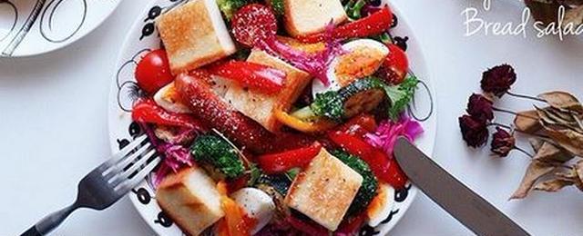 ワンプレートで大満足!野菜もお肉もしっかり摂れる「#パンサラダ」に注目