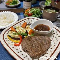 月末のご褒美ディナー♡〜ステーキソースレシピつき