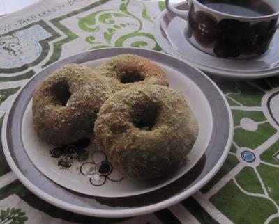 黄粉&豆腐ドーナツと【キューリグ ネオトレビエ】の香りよい珈琲