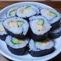 ツナと卵の巻き寿司