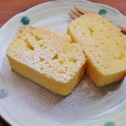 ホットケーキミックスで簡単!*ふわふわチーズパウンドケーキ*