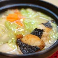 シャンタン鰆豆乳鍋☆