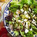 ワインにぴったり♫秋の味覚レシピ「白ブドウとフェタチーズのサラダ」、ハロウィンな陶器やさん。