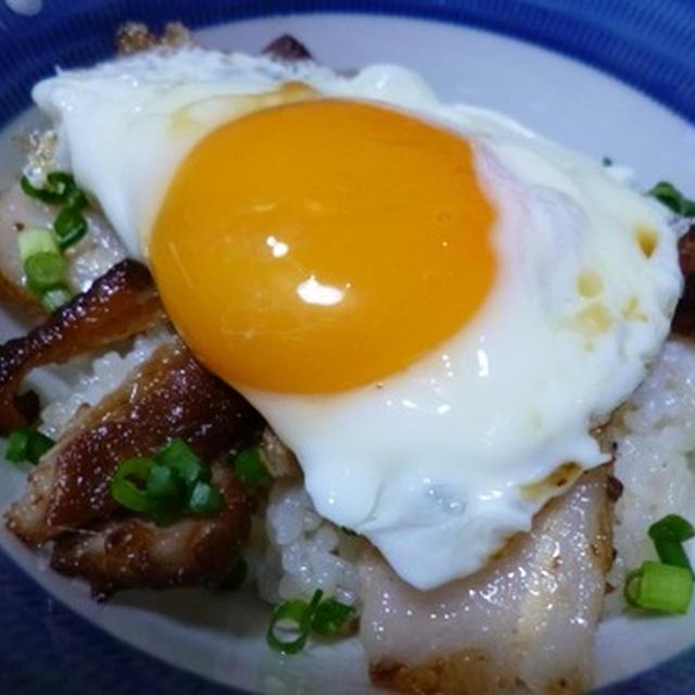 ☆今日の夕食~ご当地B級グルメ・焼豚玉子飯☆