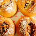 クルミと栗のパン