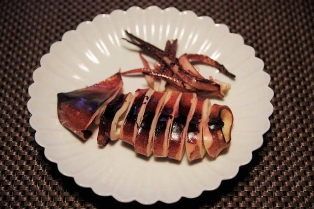 イカの西京焼き