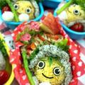 今日はJAぎふさんのキャラ弁教室がありました。野菜を食べない県ワースト3に入る岐阜県地産やさいを食べて健康に!