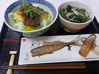 梅仕事~去年の梅味噌活用術♪さっぱり鯵丼定食