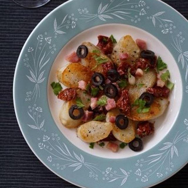 本掲載のお知らせ / 焼き菊芋とパンチェッタ&ドライトマト