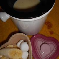 ☆バレンタインにバニラ香るホワイトチョコフォンデュ♪